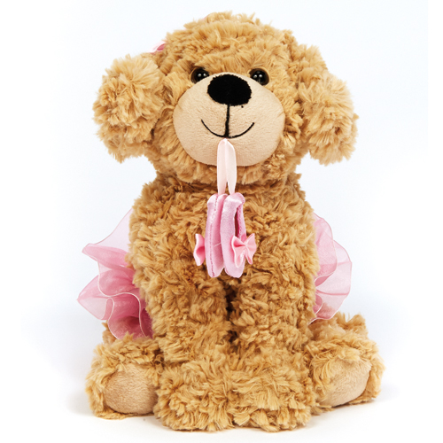6277 Dance Puppy with Ballet Shoes - Click Image to Close