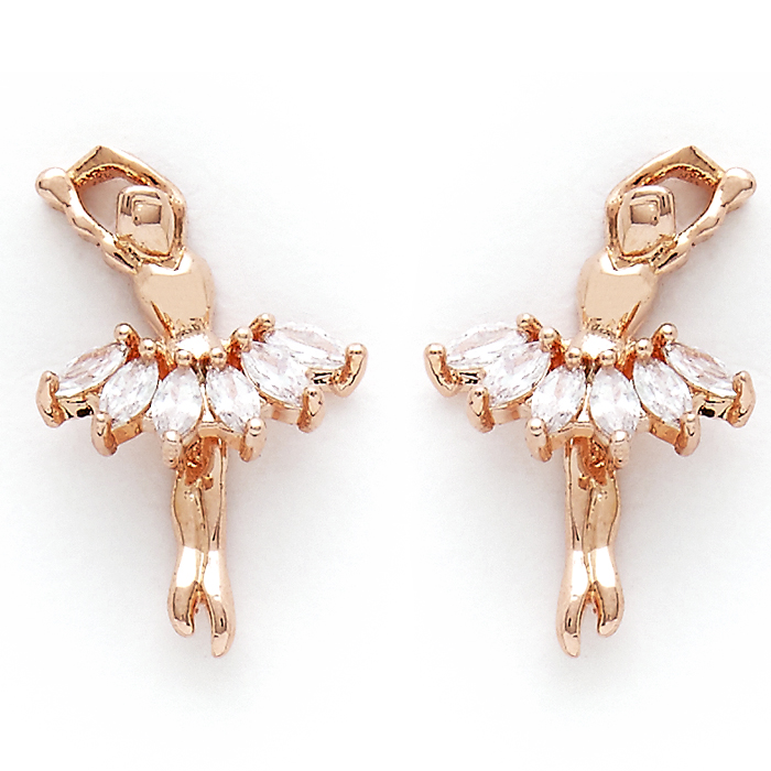 2769 Ballerina Earrings (Set of 3) - Click Image to Close